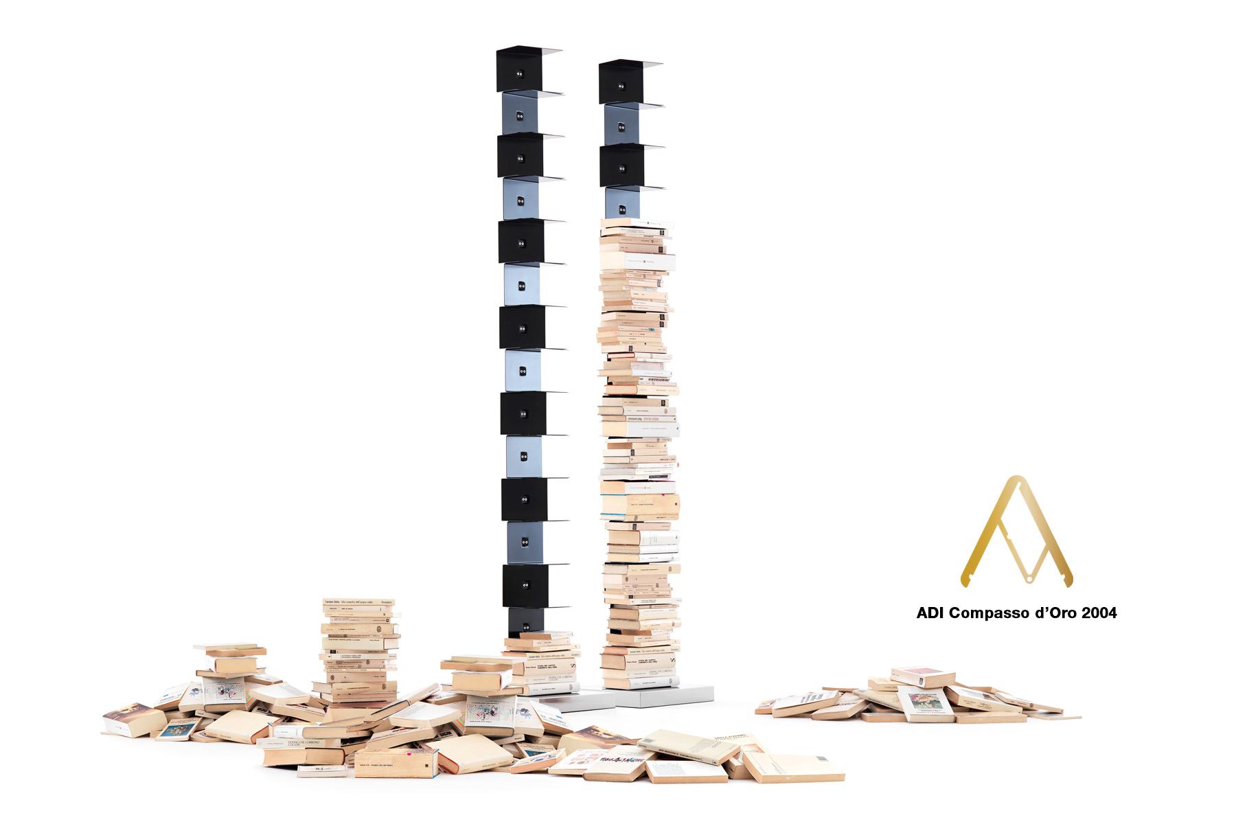 Libreria Verticale In Metallo.Original Ptolomeo Opinion Ciatti